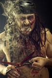Zombie Man Royalty Free Stock Image