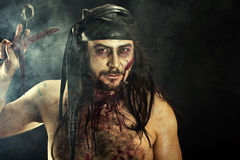Zombie Man Royalty Free Stock Images
