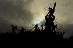 Zombie nebbiosi 5 illustrazione vettoriale