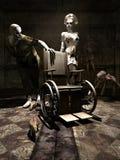 Zombie Nurse Stock Photo