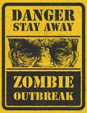 Zombie Outbreak. Hand drawn. Vector Eps8 Royalty Free Stock Images