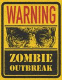Zombie Outbreak. Hand drawn. Vector Eps8 Stock Photos