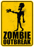 Zombie Outbreak Royalty Free Stock Images