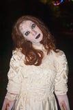 Zombie på Halloween Arkivbild