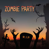 Zombie party Stock Photography