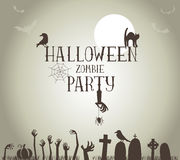 Zombie Party Royalty Free Stock Images