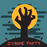 Zombie party Royalty Free Stock Photography