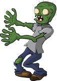 Zombie People Walking Dead Cartoon Funny Stock Photo