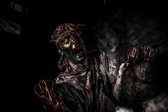 Zombie portrait Royalty Free Stock Images