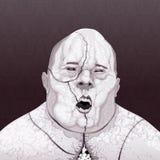 Zombie portrait. Stock Image