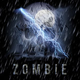 Zombie Poste Stock Image