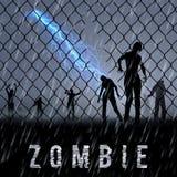 Zombie Poste Stock Images