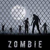Zombie Poste Stock Photo