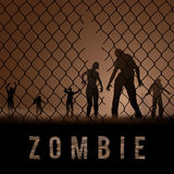 Zombie Poste Royalty Free Stock Images