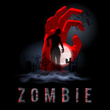 Zombie Poste Royalty Free Stock Photography