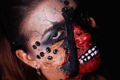 Zombie quin Lizenzfreie Stockfotos