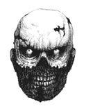 zombie ręka patroszona gotówkowa e eps8 ilustracja ablegrujący wektor ilustracji