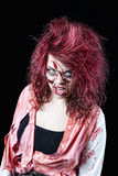 Zombie Red Head Royalty Free Stock Image