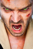 Zombie scary eyes Stock Photos