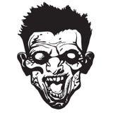Zombie Schwarzweiss Stockfoto