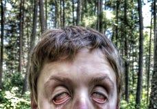 Zombie selfie Royalty-vrije Stock Foto
