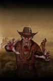Zombie Sheriff Stock Images