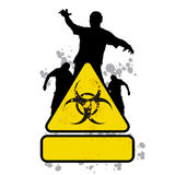 Zombie sign 1 Royalty Free Stock Photography