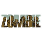 Zombie sign Royalty Free Stock Images