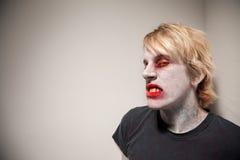 Zombie Sneering Immagine Stock Libera da Diritti