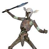 Zombie soldier Stock Image