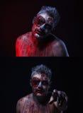 Zombie spaventose Fotografia Stock
