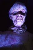 Zombie spaventose dell'anziana Fotografie Stock