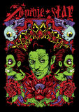 Zombie star Stock Image