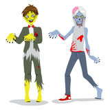 Zombie Teen Boys Royalty Free Stock Images