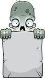 Zombie Tombstone Stock Photography