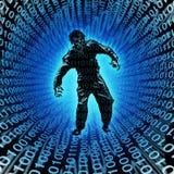 Zombie van Technologie royalty-vrije illustratie