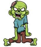 Zombie. Vector illustration of Cartoon zombie royalty free illustration