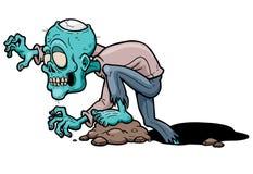 Zombie. Vector illustration of Cartoon zombie vector illustration