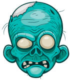 Zombie. Vector illustration of Cartoon zombie face vector illustration