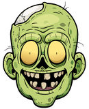 Zombie. Vector illustration of Cartoon zombie face Royalty Free Stock Photography