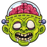 Zombie. Vector illustration of Cartoon Monster Zombie stock illustration
