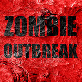 Zombie virus concept background Royalty Free Stock Photography