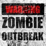 Zombie virus concept background Royalty Free Stock Photo
