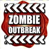 Zombie virus concept background Stock Photos