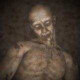 Zombie voor 3D Halloween - geef terug royalty-vrije illustratie