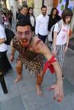 Zombie Walk Istanbul Stock Photos
