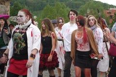 Zombie Walk Stock Image