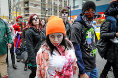 Zombie Walk Royalty Free Stock Photography