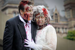 Zombie Walk Royalty Free Stock Image