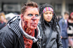 Zombie Walk royalty free stock images